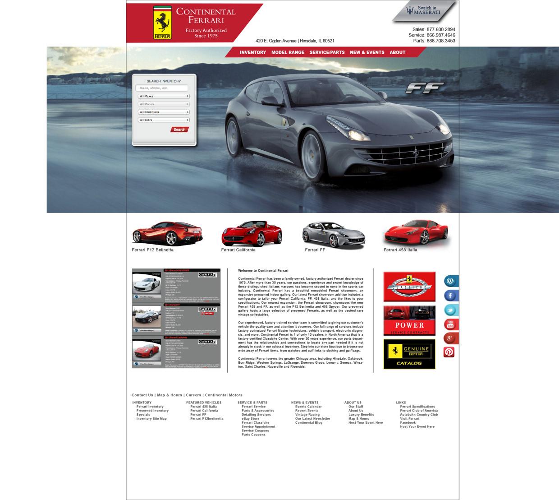 Dee Fritz - Auto Website Layouts - Web Design