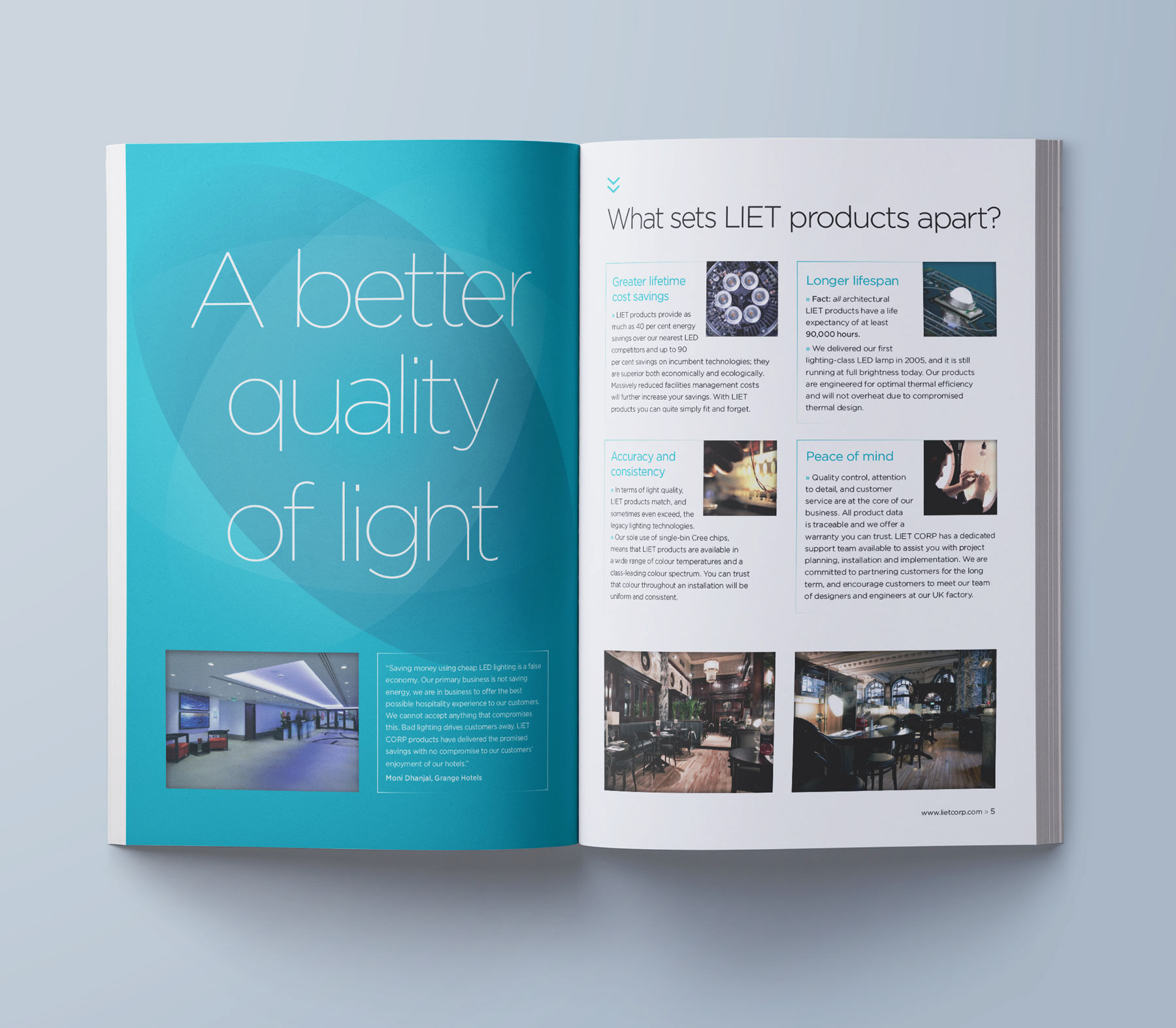 pgdesign - brochures & media packs
