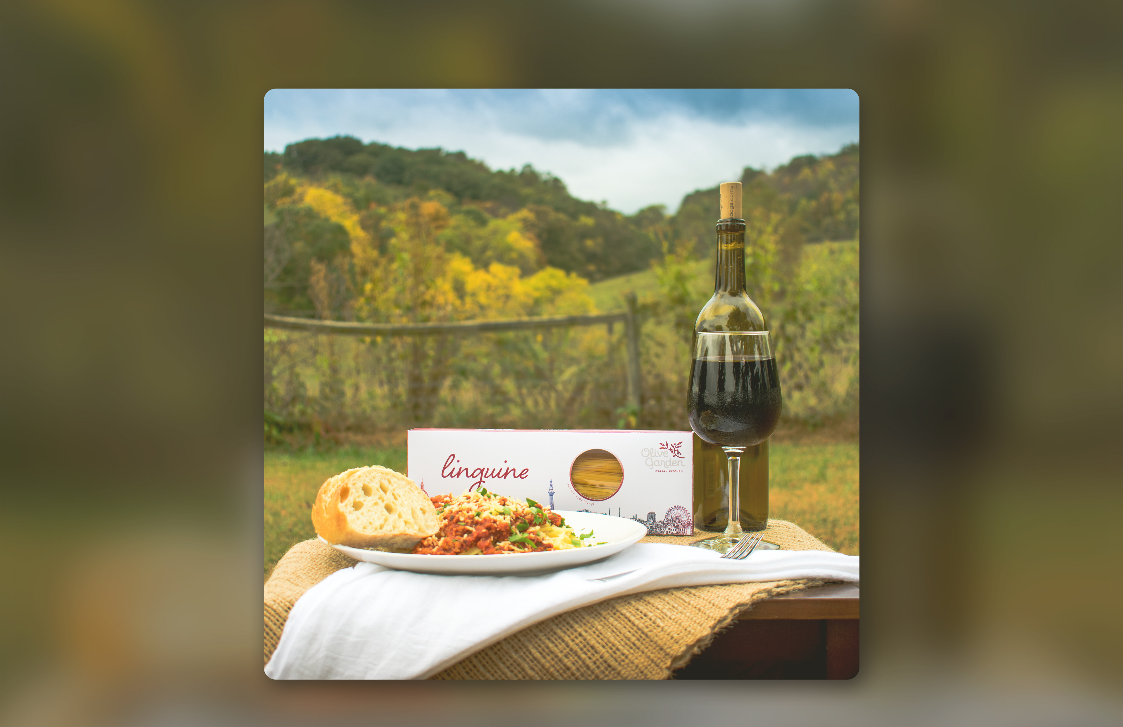 Vanhoozier Designs - Olive Garden Packaging