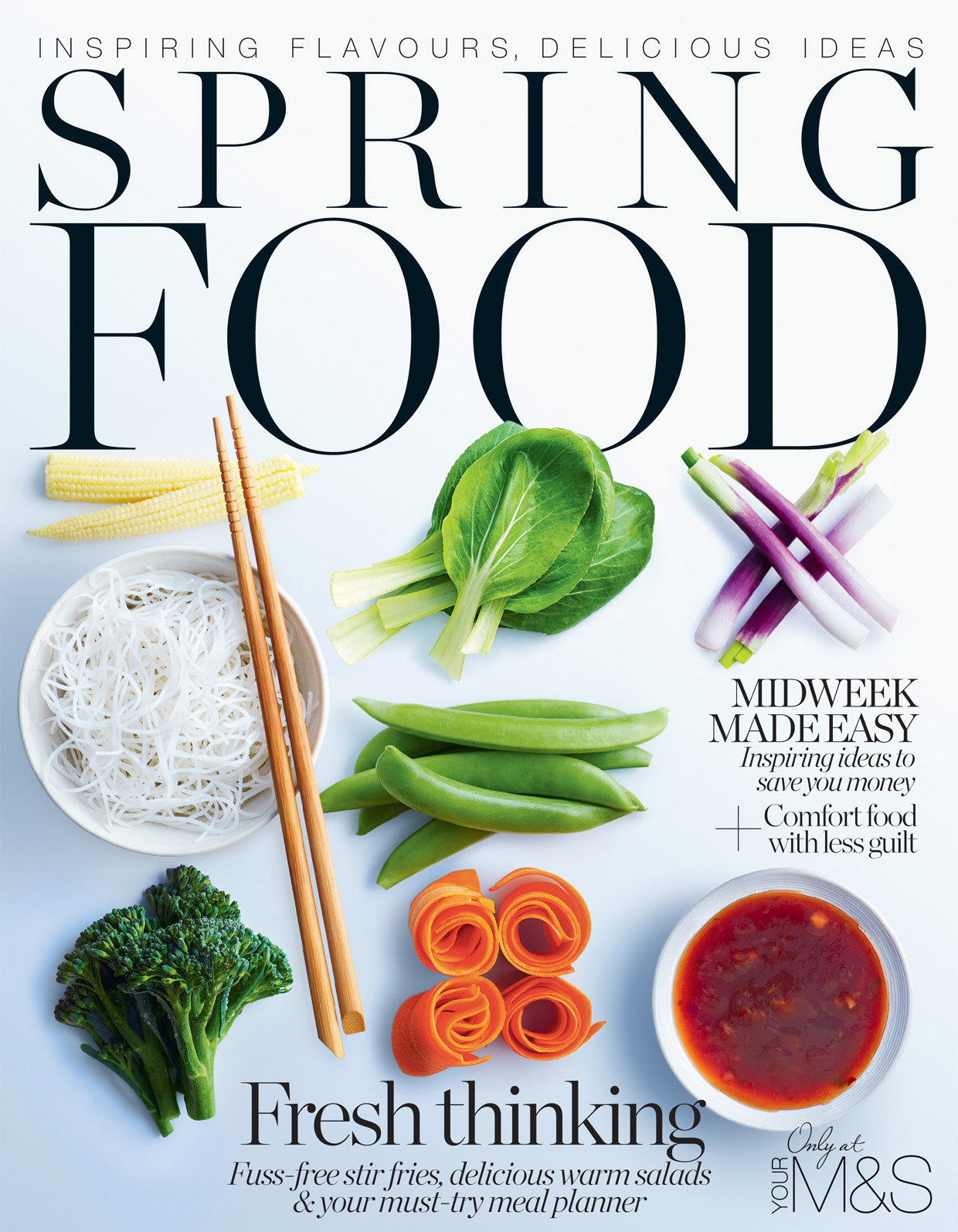 I Concepted Art Directed And Designed M S Specialist Food Magazine While Engaged By Redwood Publishing For