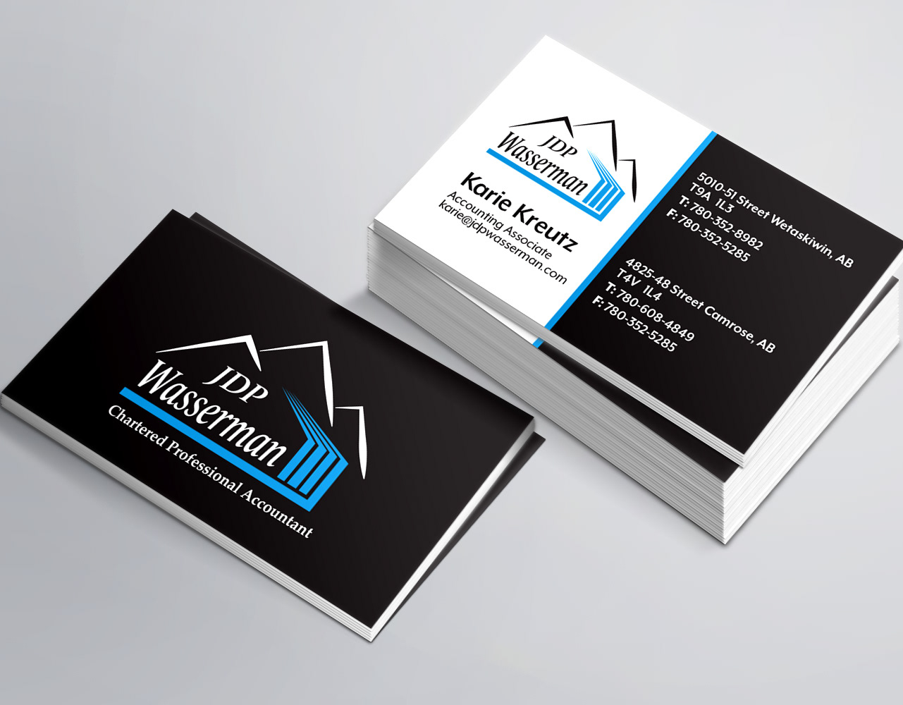 Steven Paslawsky Jdp Wasserman Business Cards