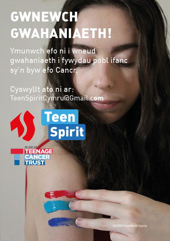 Ben Griffiths Teenage Cancer Trust Teen Spirit