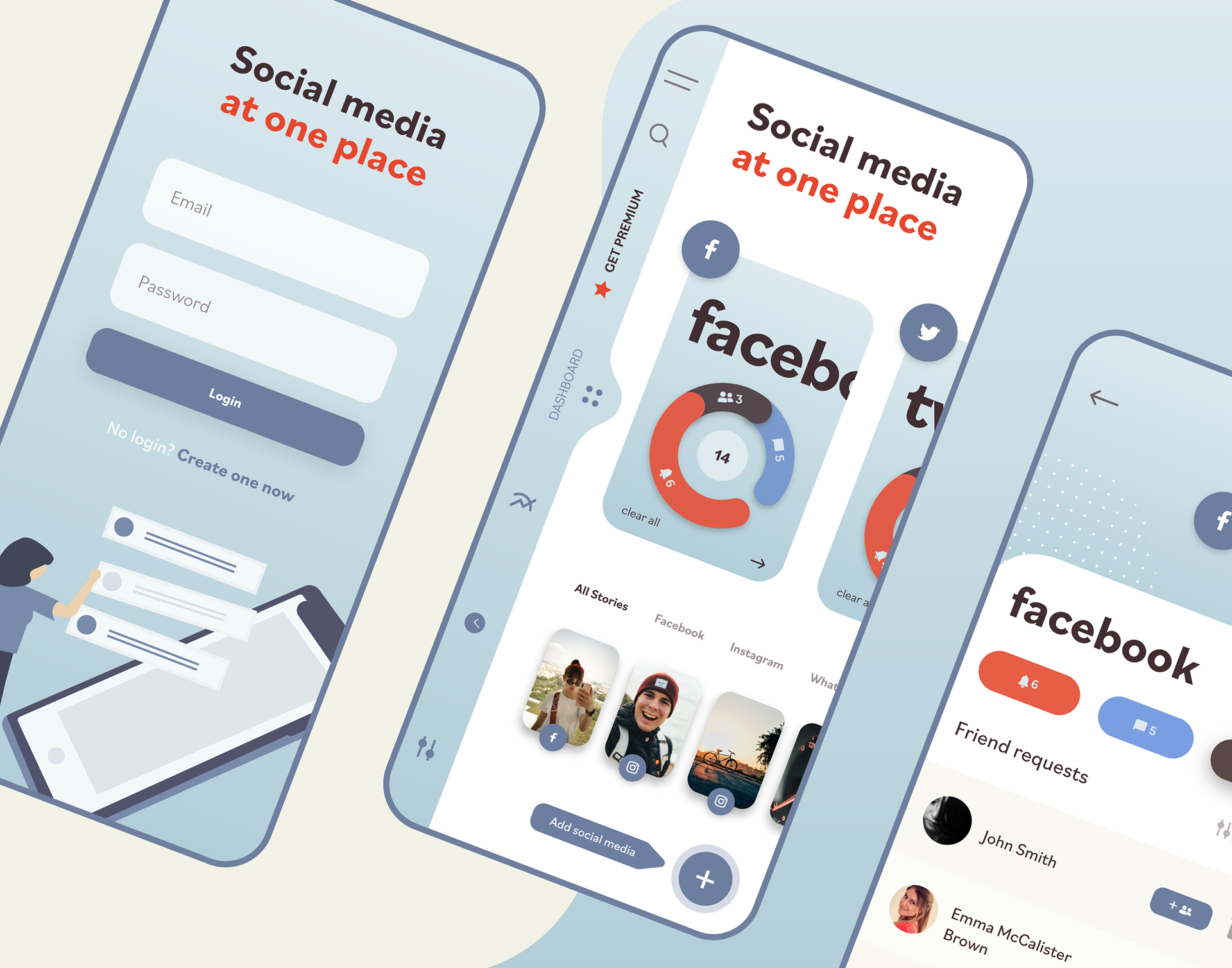 Filip Jenei Ux Design Social Media Management App