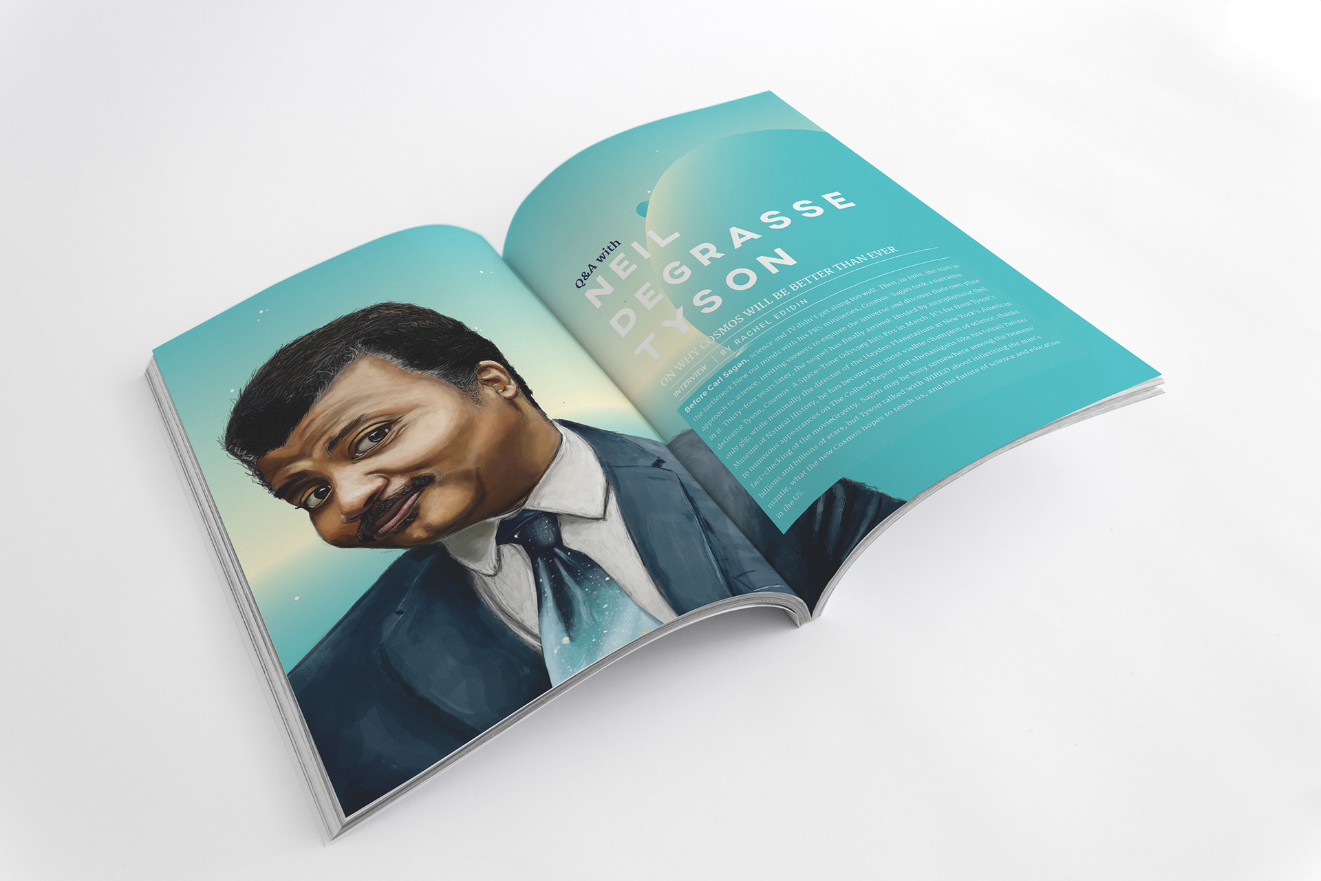 Ross Timcke - Neil deGrasse Tyson - Article Layout