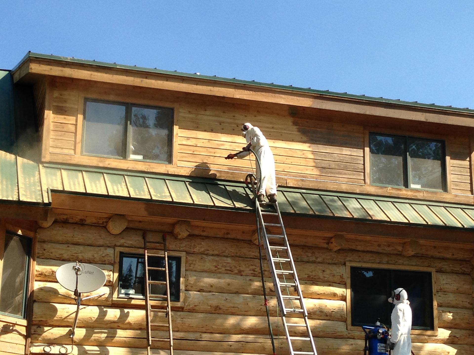 Log Home Restoration Colorado Log Home Restoration
