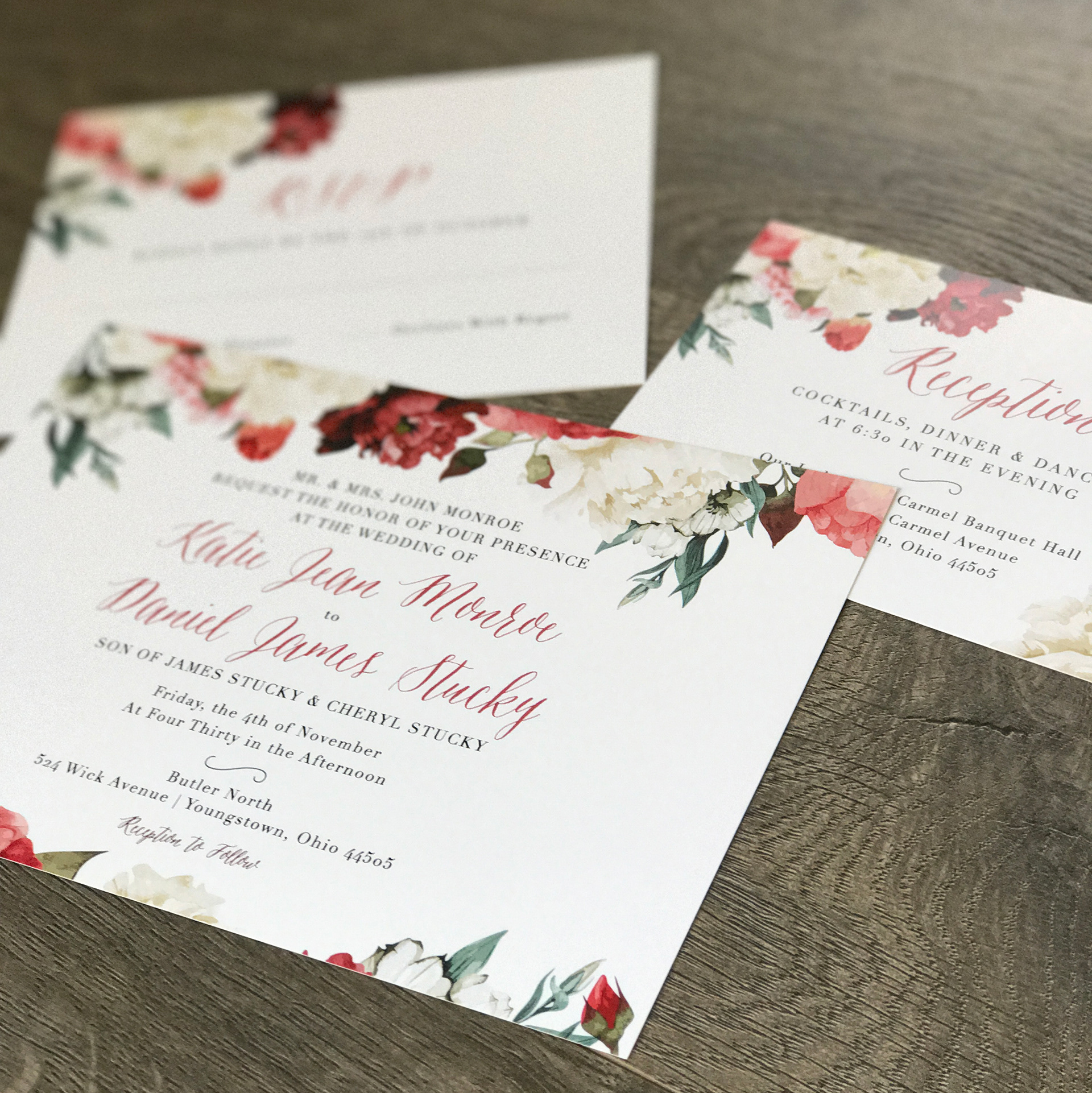 Kayla Debiec - KATIE\'S WEDDING INVITES