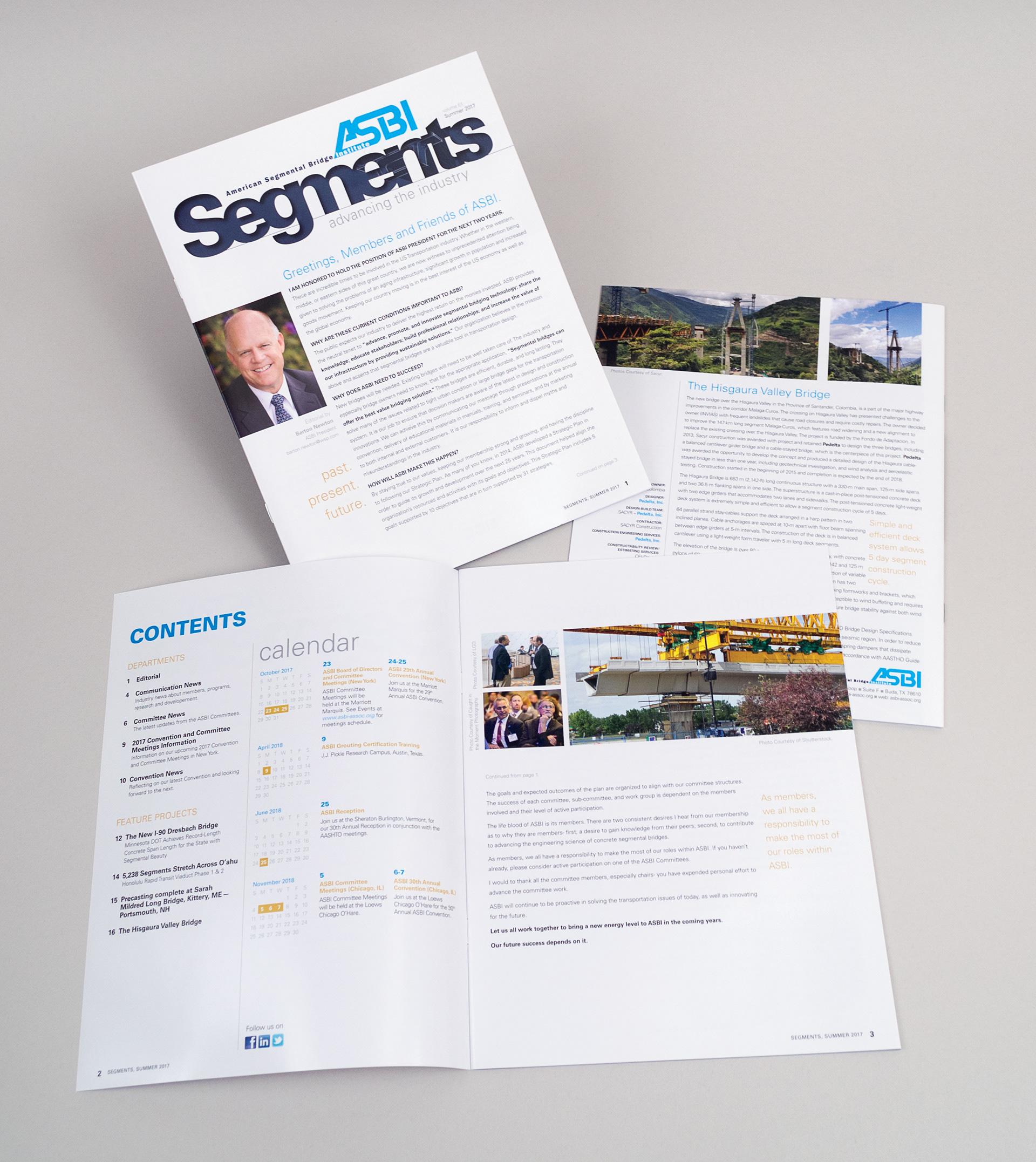 Jim Henson - Newsletter Design