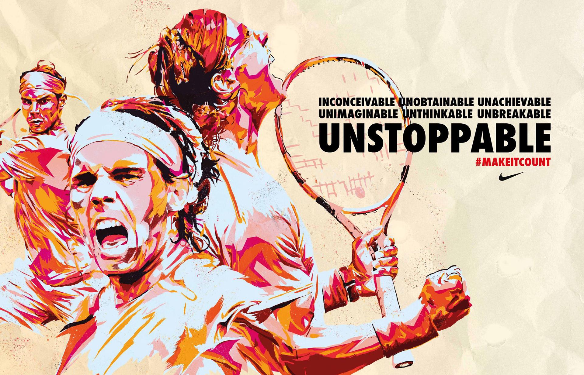 M C Nike X W K Rafael Nadal