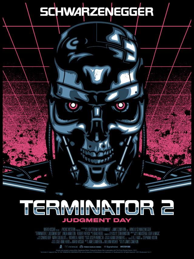 Signalnoise :: The Work of James White - Terminator 2 Poster