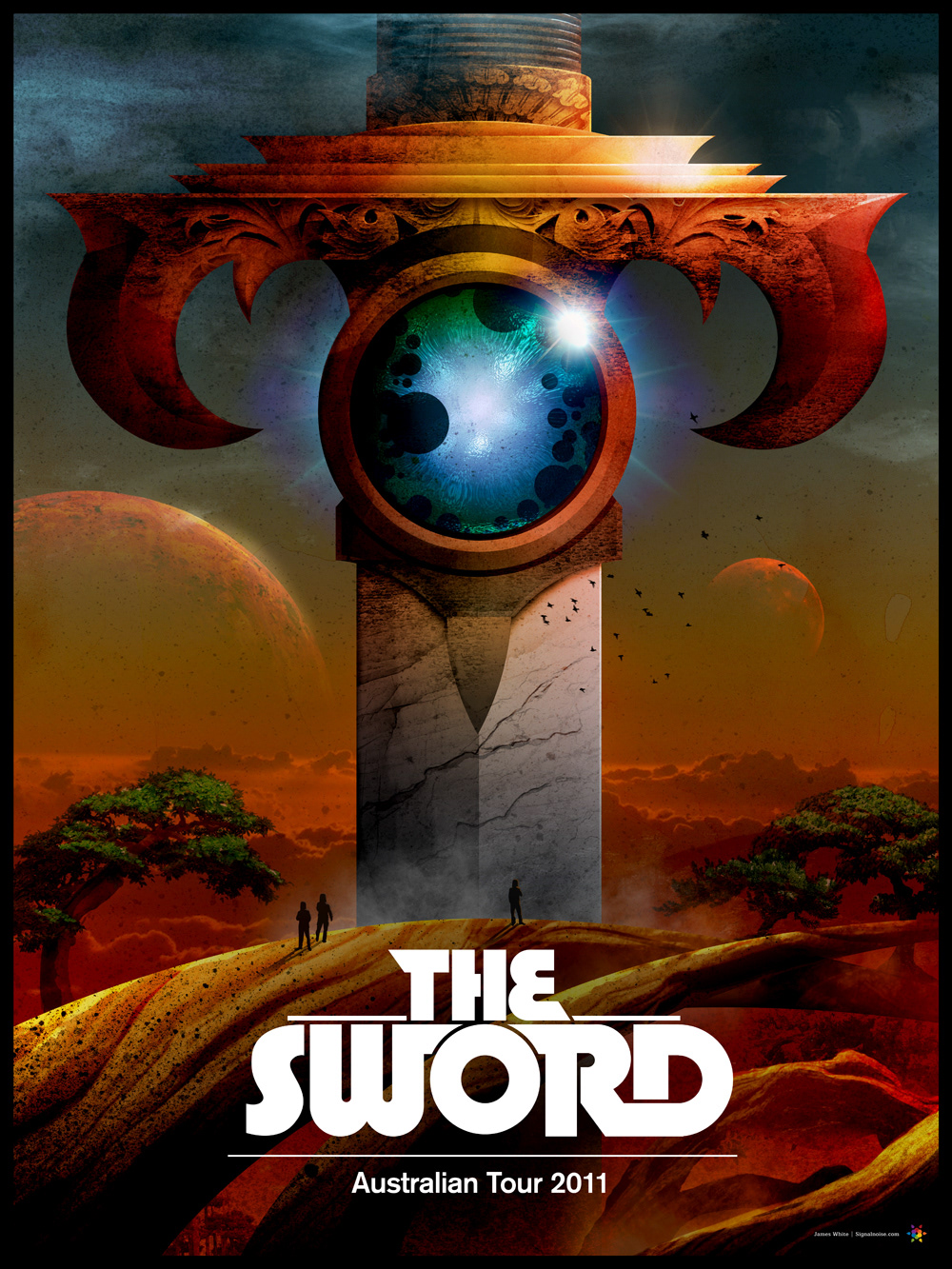 Signalnoise :: The Work of James White - The Sword