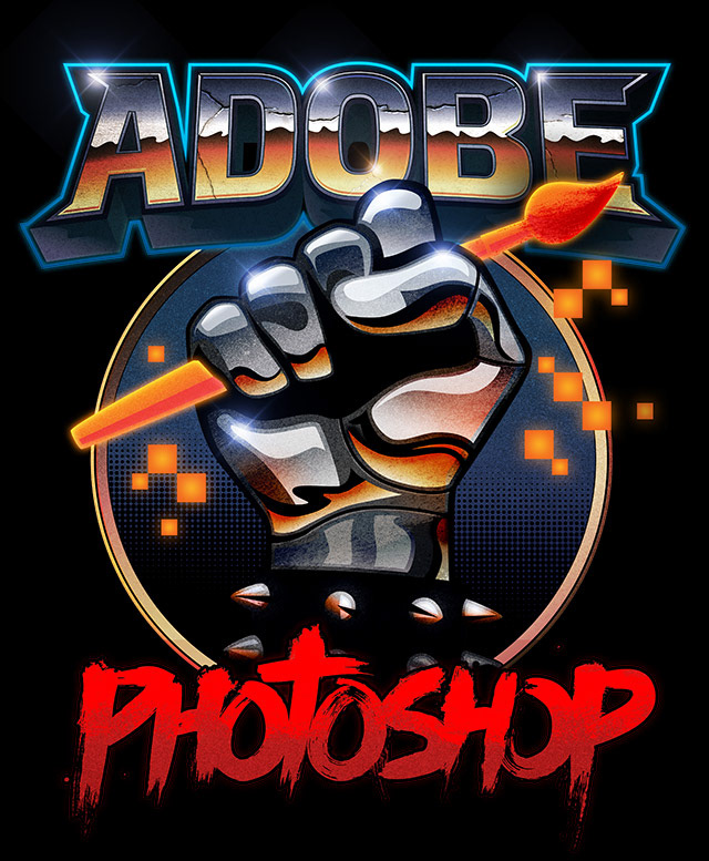 bdfa18ff9 Signalnoise :: The Work of James White - Adobe Photoshop T-shirt