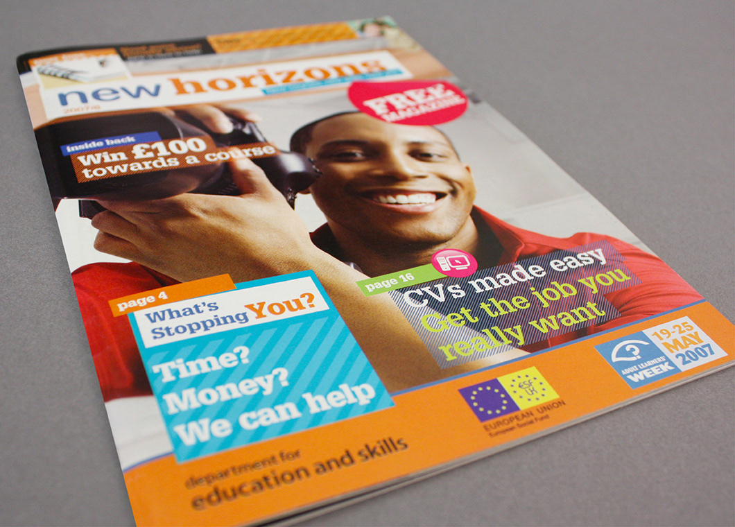 This free publication was given away at various adult education venues  throughout the UK to publicise Adult Learners' Week.