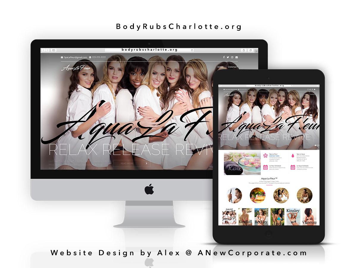 ANewCorporate Atlanta #1 Graphic Website Designer - Aqua La