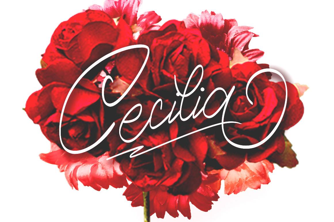 Hendra Maulia - Cecilia Script FREE Font