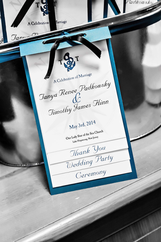 Tanya Flinn Graphic Design - Padkowsky-Flinn Wedding