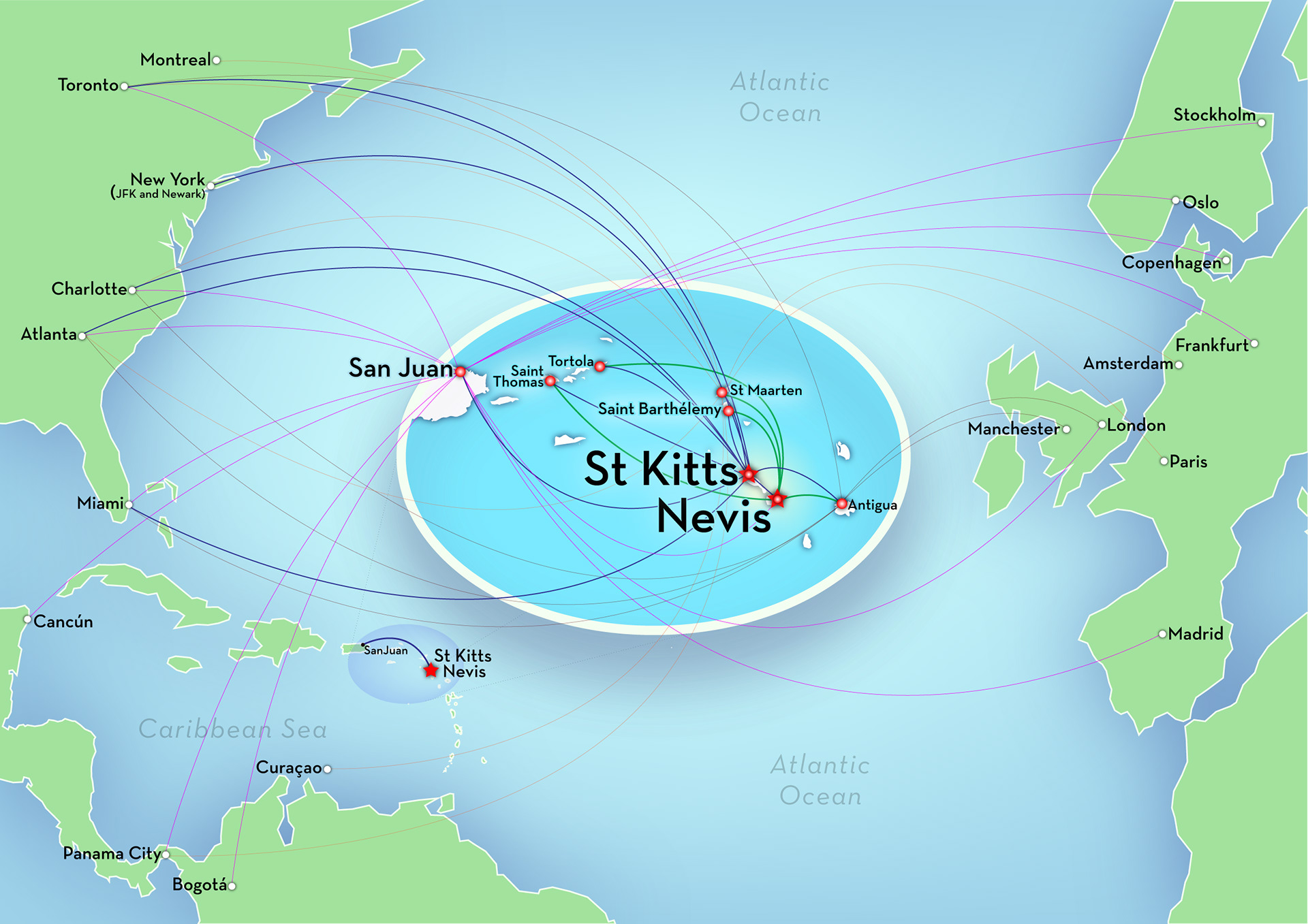 Eric Olason - Mapmaker - Cartographic Artist - St.Kitts & Nevis ...