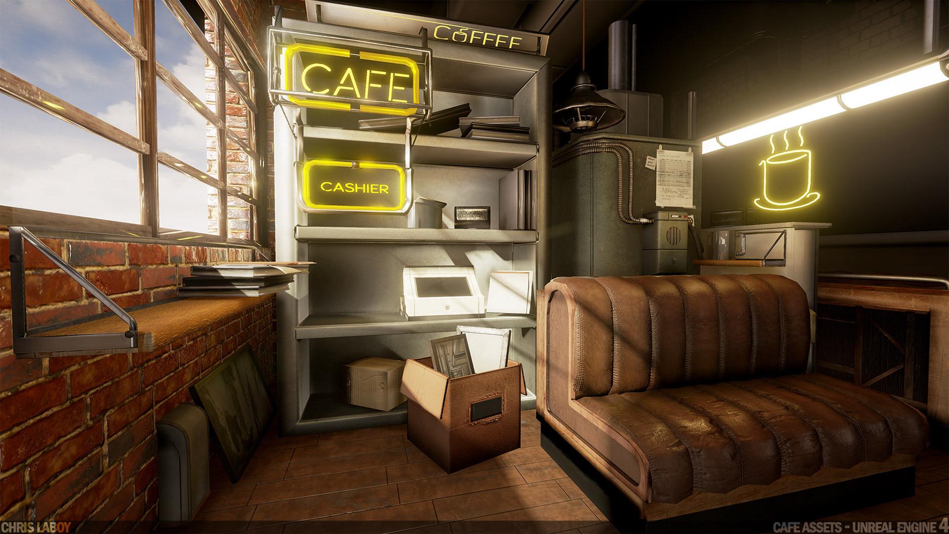 Chris LaBoy - Cafe