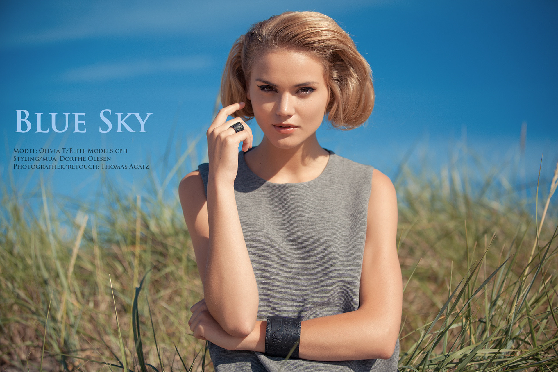 Model: Camilla Bauer - Fotograf: Thomas Agatz ‹ ADO Style