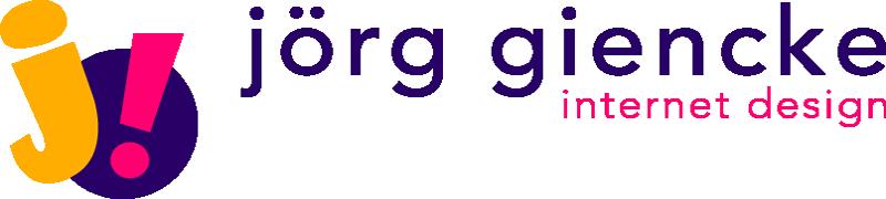 Logo: jörg giencke | internet design