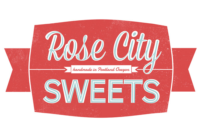 Jenny Tiffany Rose City Sweets Logo Brand