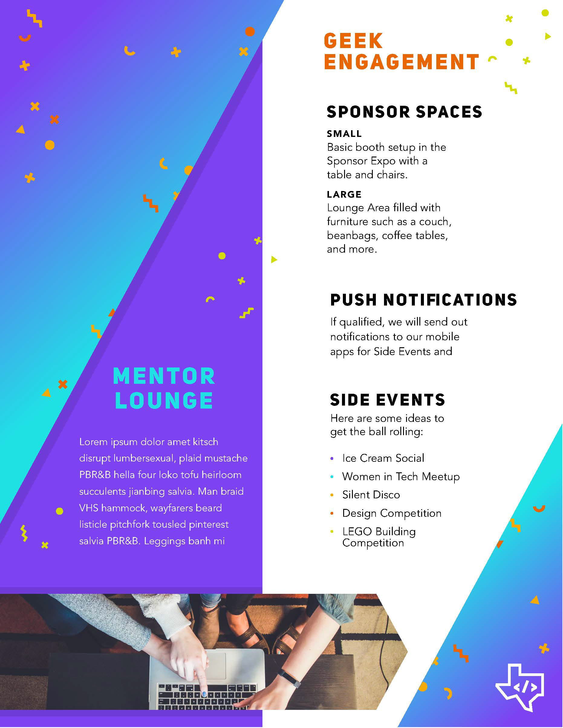 Carly Berry Illustrator Graphic Designer Sponsorship Package Template