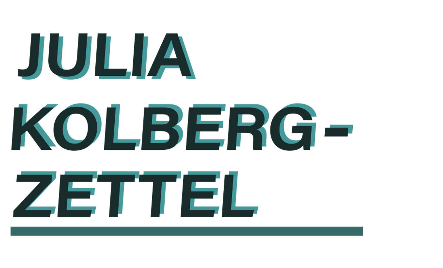 Julia Kolberg-Zettel