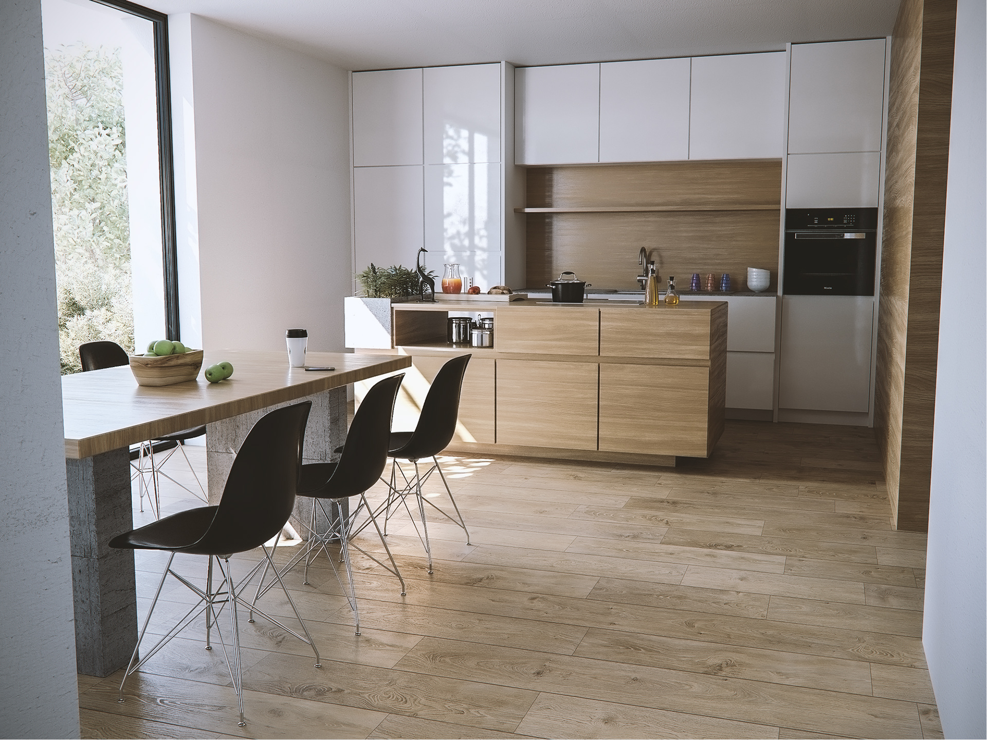 Nejc Kilar Modern Kitchen Interior