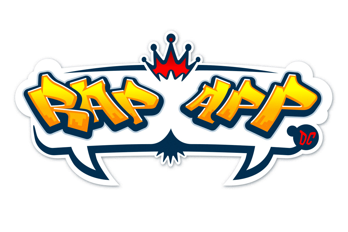 Mark Gervais Illustration And Animation Rap App Logo