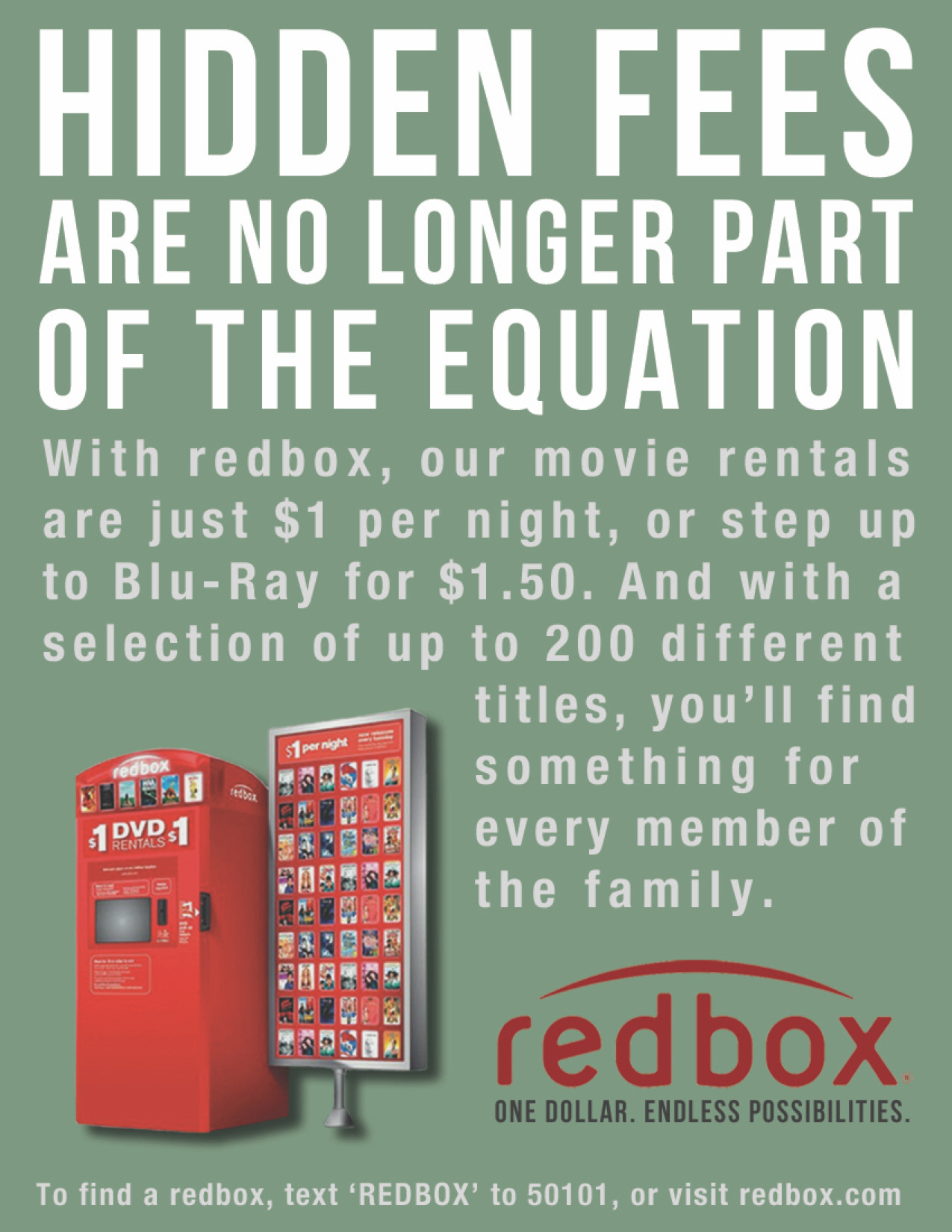Kevin Patterson Redbox Campaign
