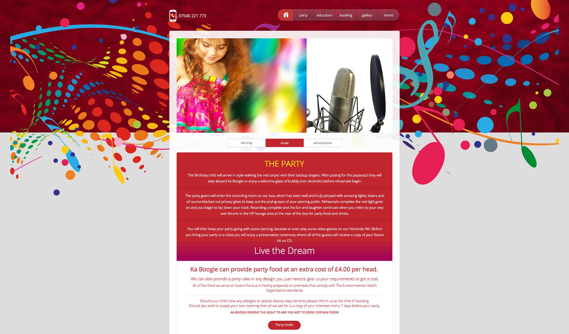 Mark Coleman - Berry Edge Creative - Kaboogie Website