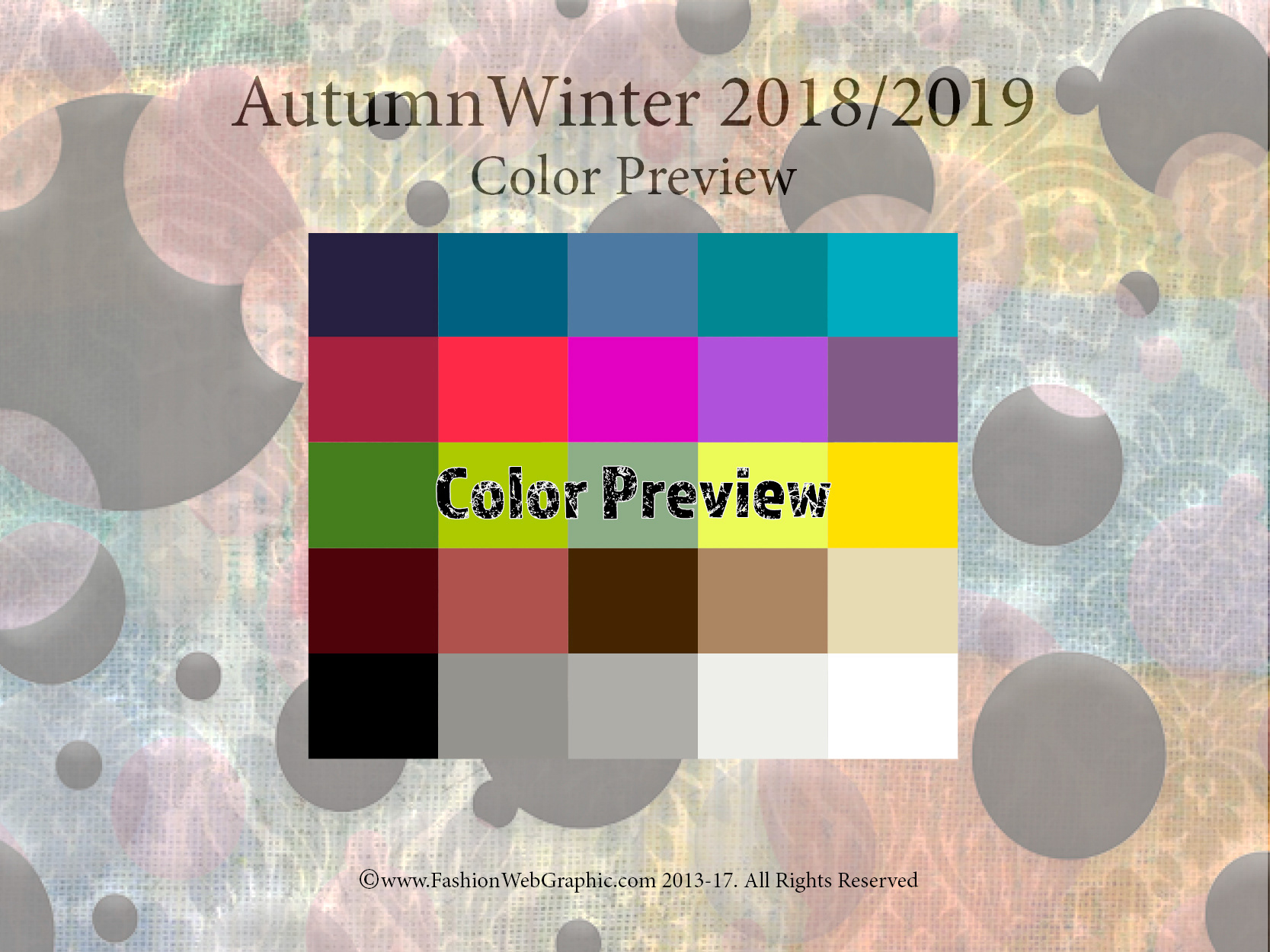 Judith ng aw2018 2019 trend forecasting for 2018 winter colors