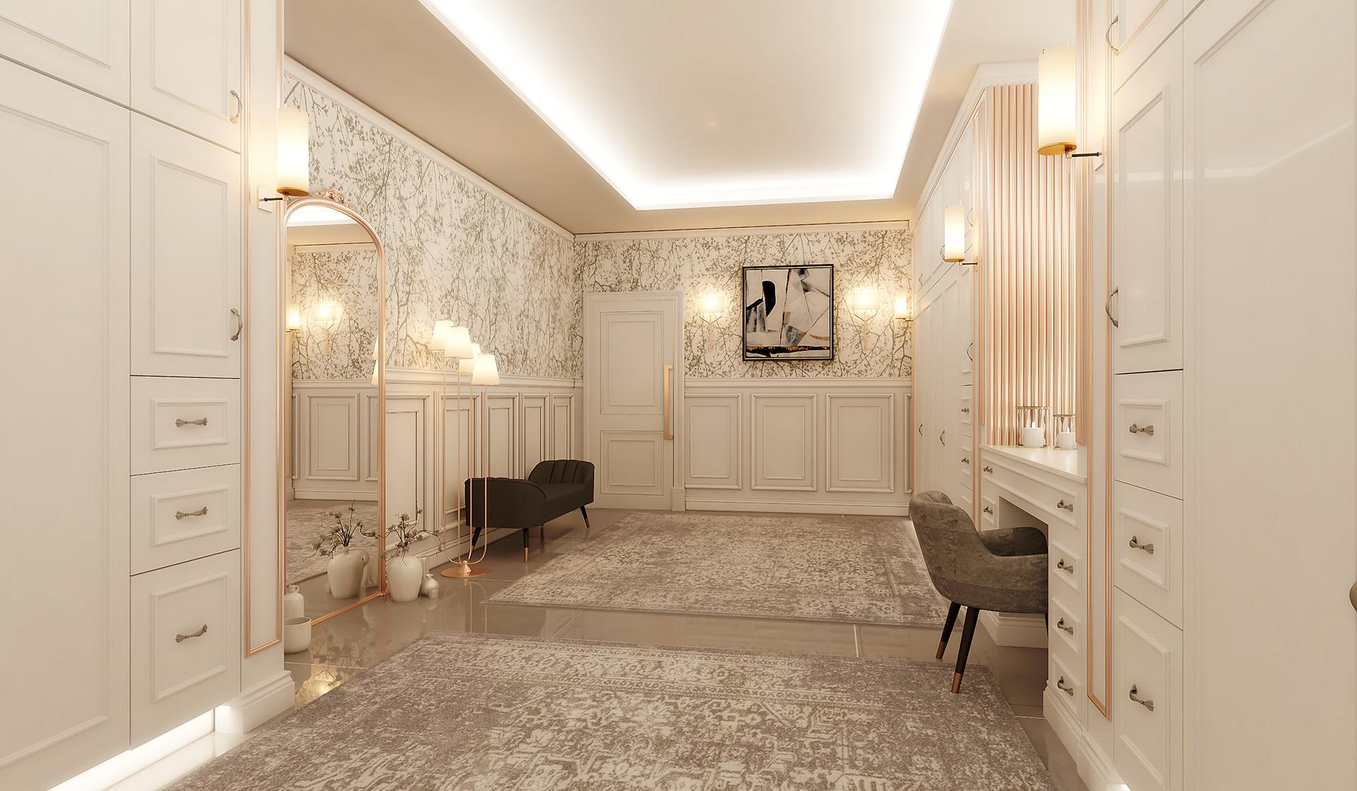 Eman Kamel Classic Dressing Room
