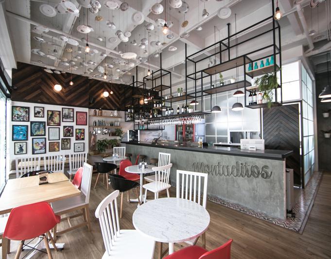 Plasma nodo montaditos dise o restaurante for Diseno restaurante