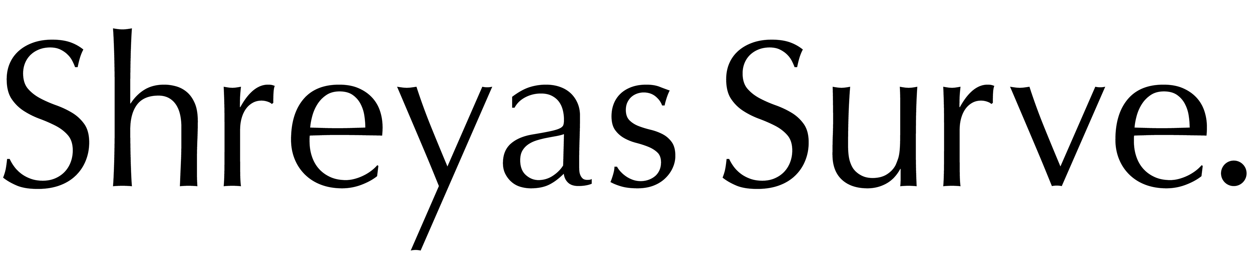 SHREYAS SURVE