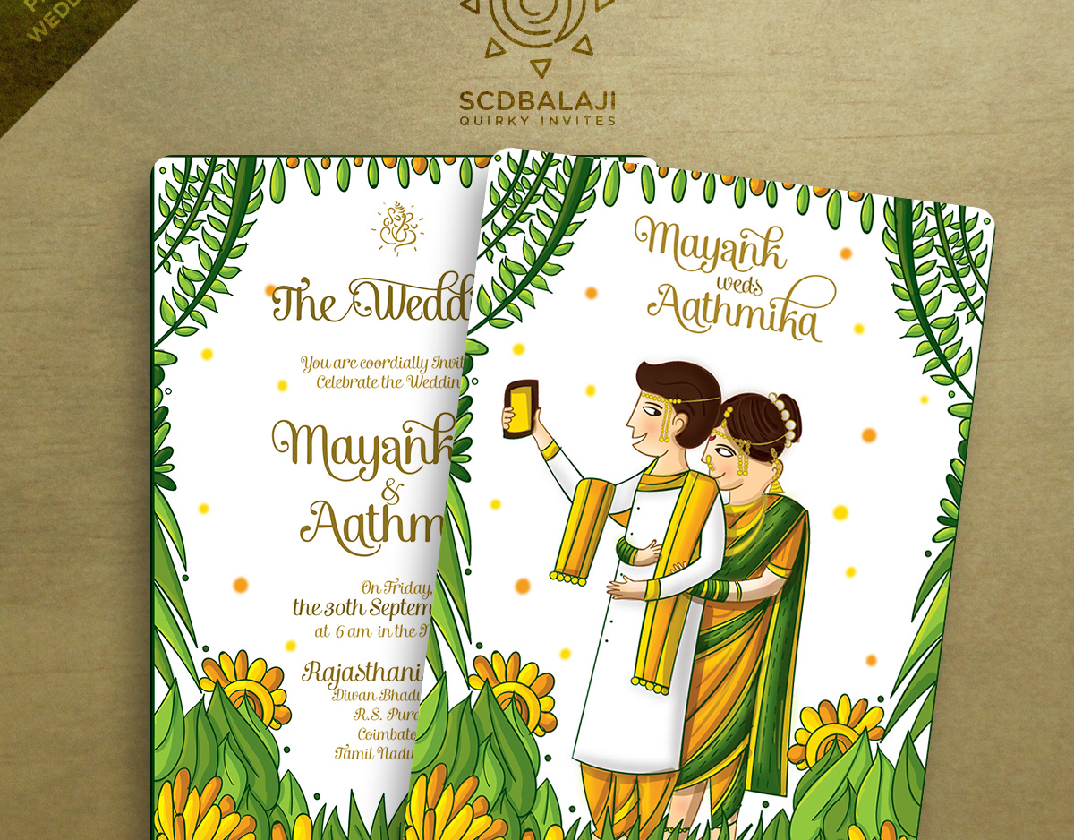 Tamil Quotes For Wedding Invitation: Quirky Indian Wedding Invitations