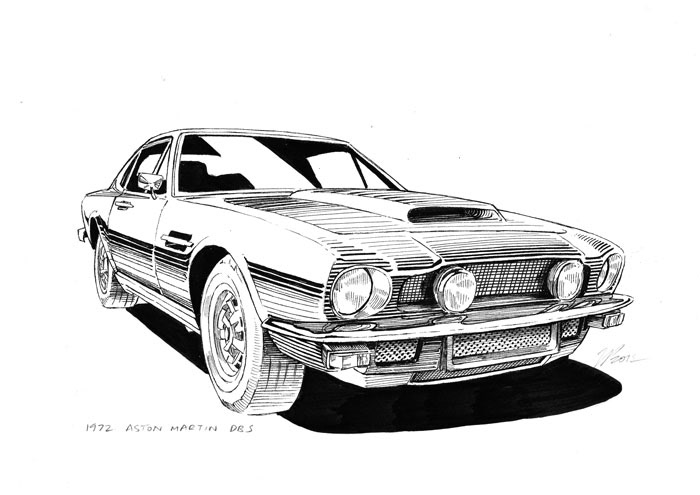 jeffrey phillips classic car illustrations. Black Bedroom Furniture Sets. Home Design Ideas