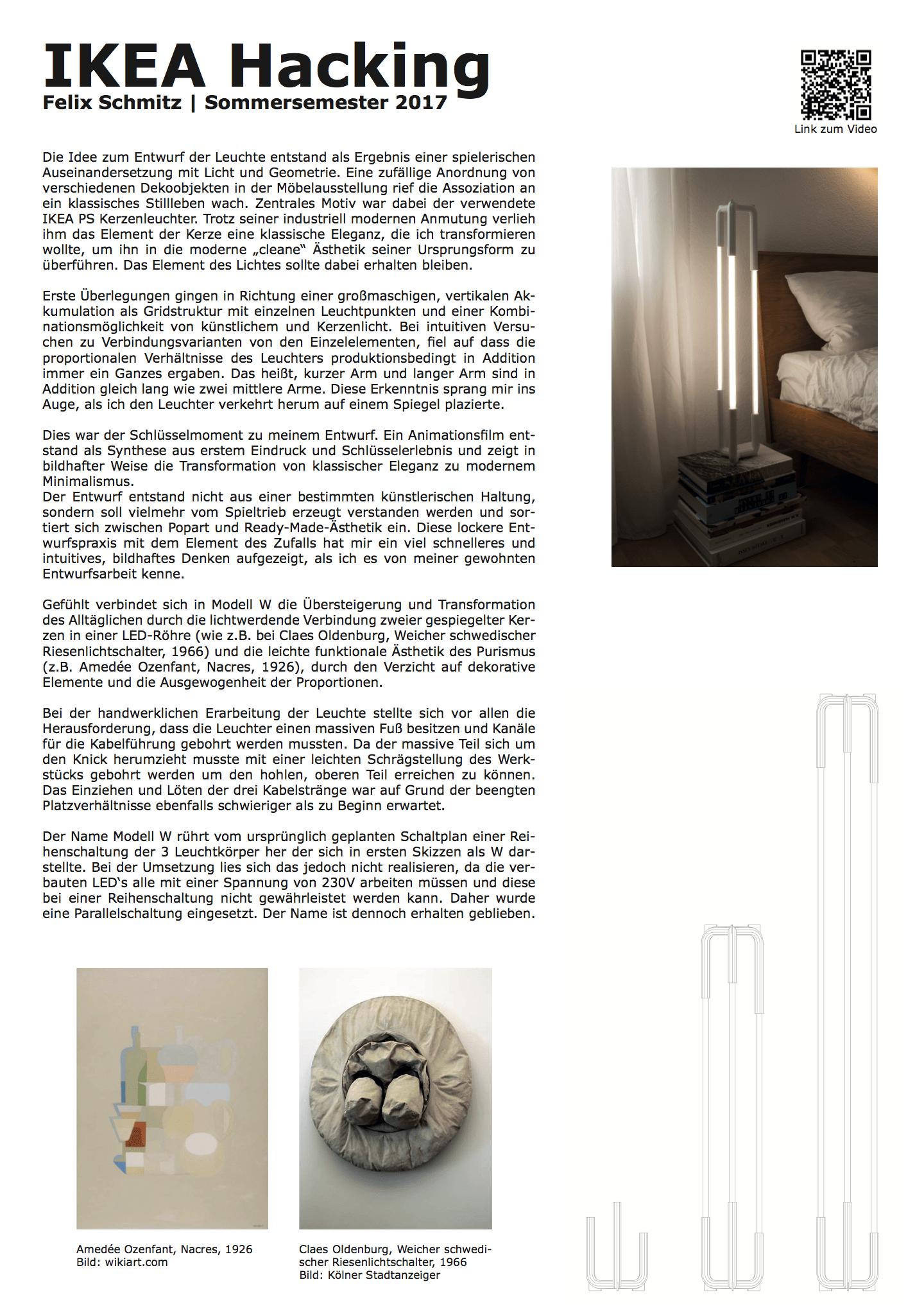 Felix Schmitz | Architektur | Design - Modell W | IKEA Hacking ...