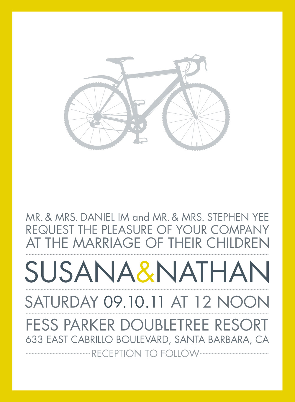Laurie Bramlage - Susana & Nathan\'s Wedding Invitations