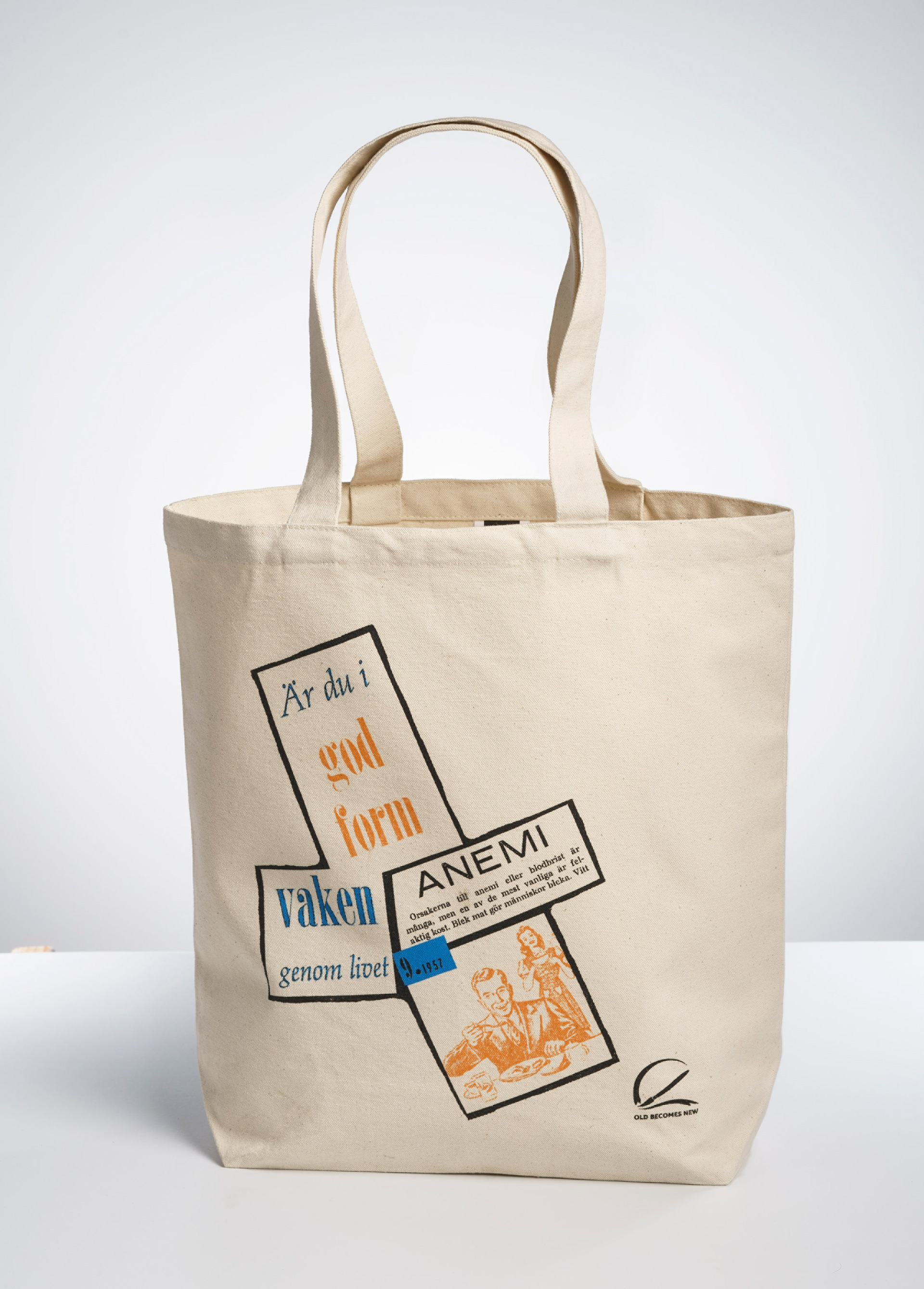 Design Of Fabric Tote Bags For The Brand Old Becomes New Check Out Their Awesome Products At Www Oldbnew