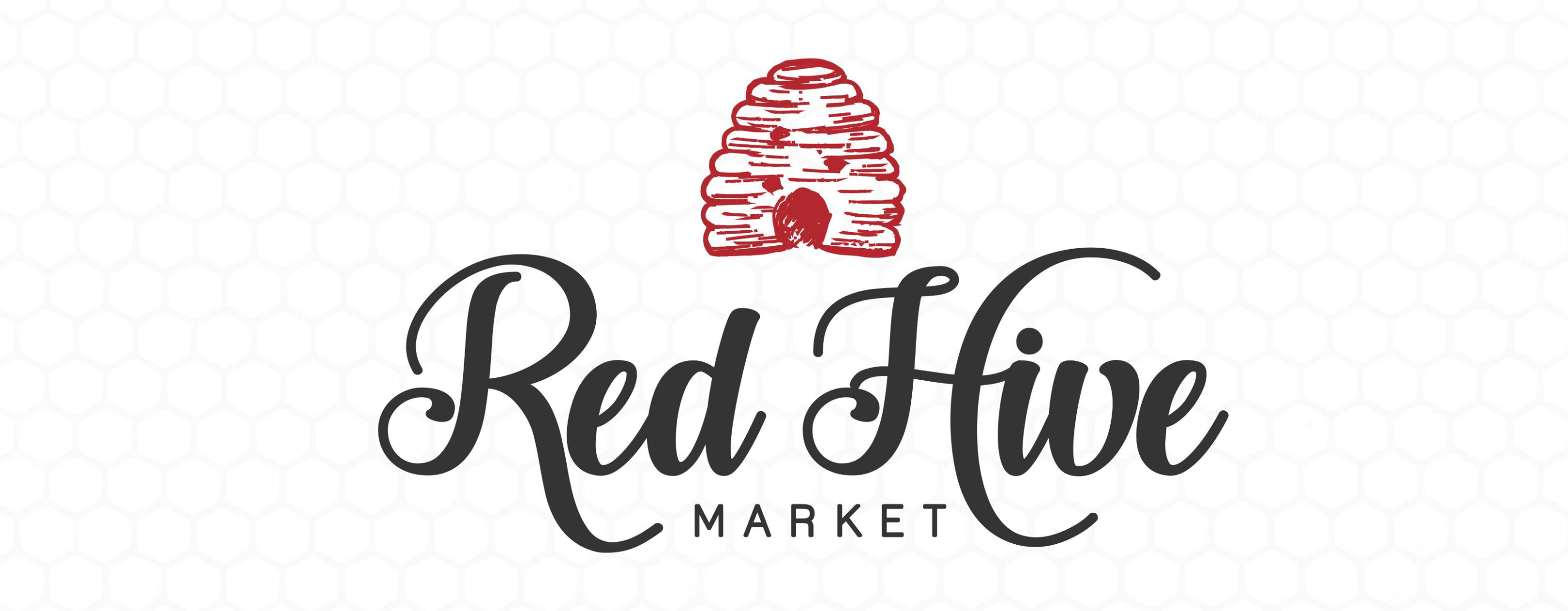 Red Hive Market Logo