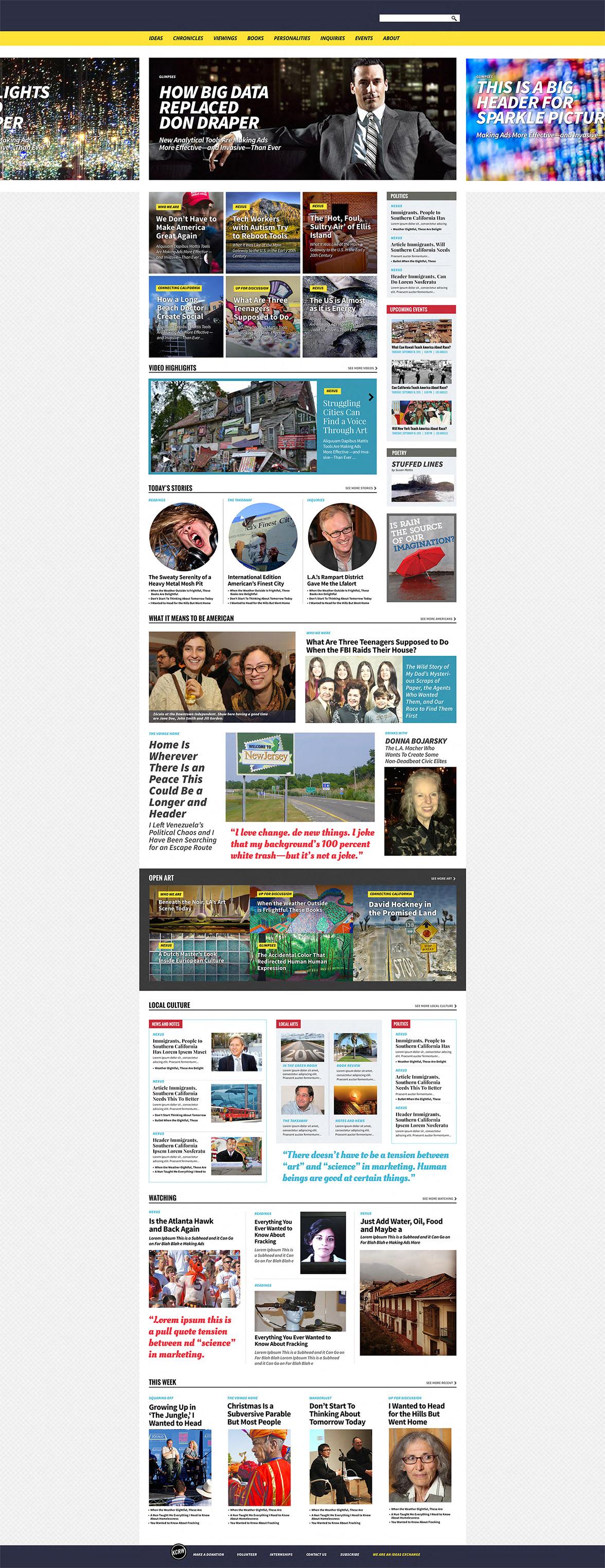 LOUISE BOVA DESIGN - Home Page Web Design