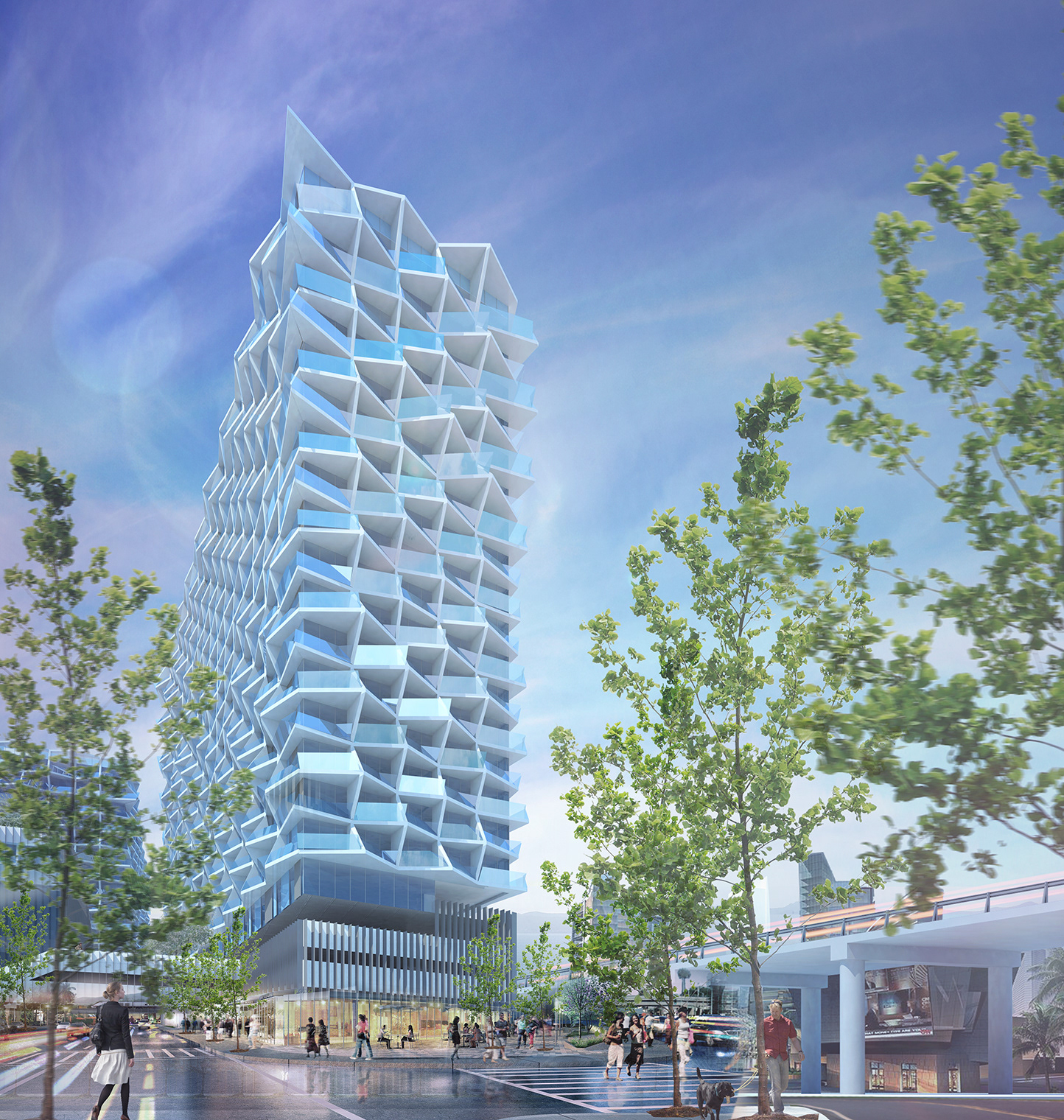 Brooks Scarpa High Rise Housing