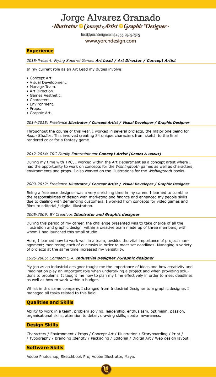 JORGE ALVAREZ GRANADO - Resume