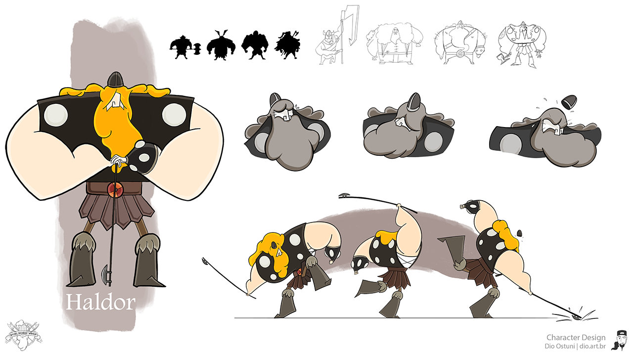 Character Design Vancouver : Dio ostuni portfolio