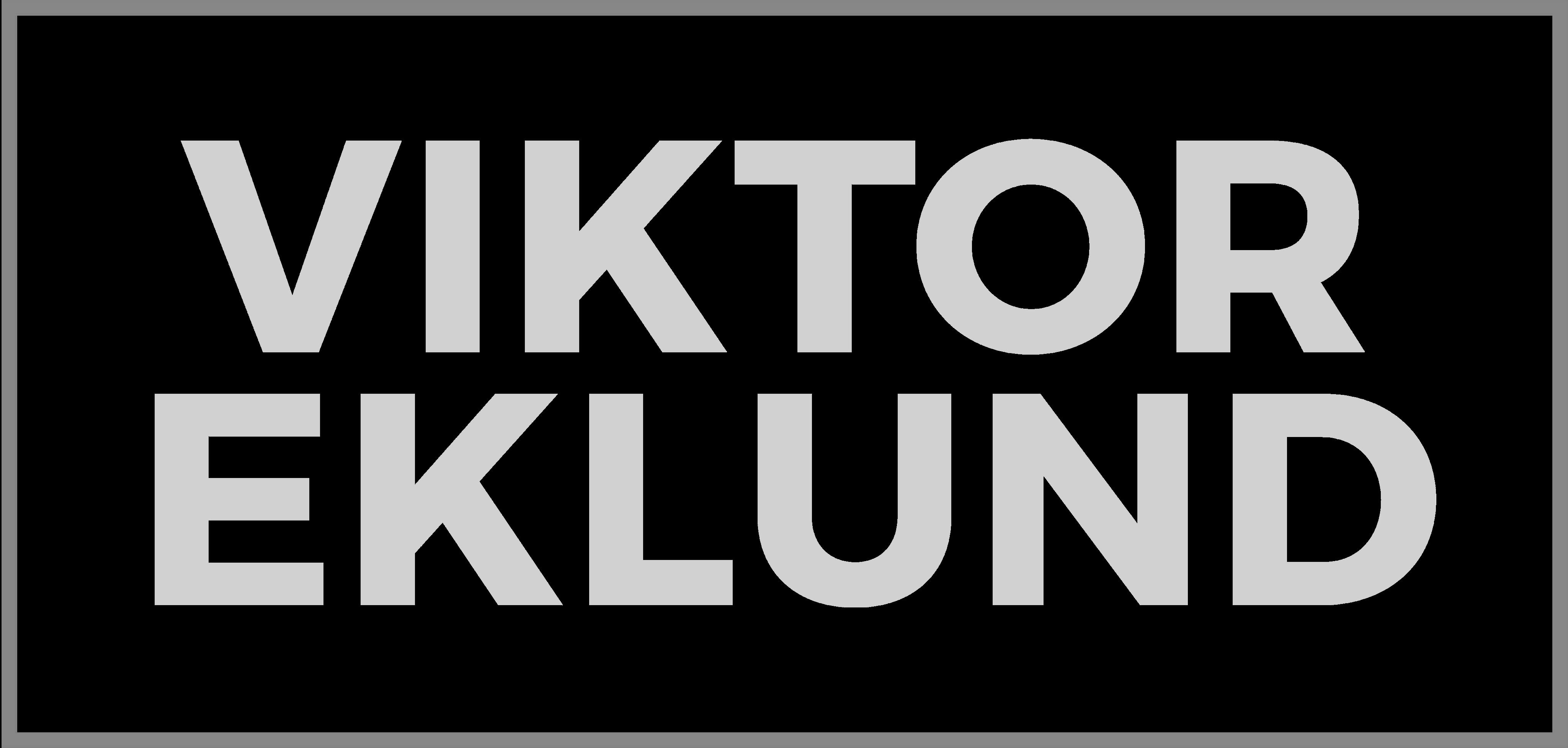 viktor eklund