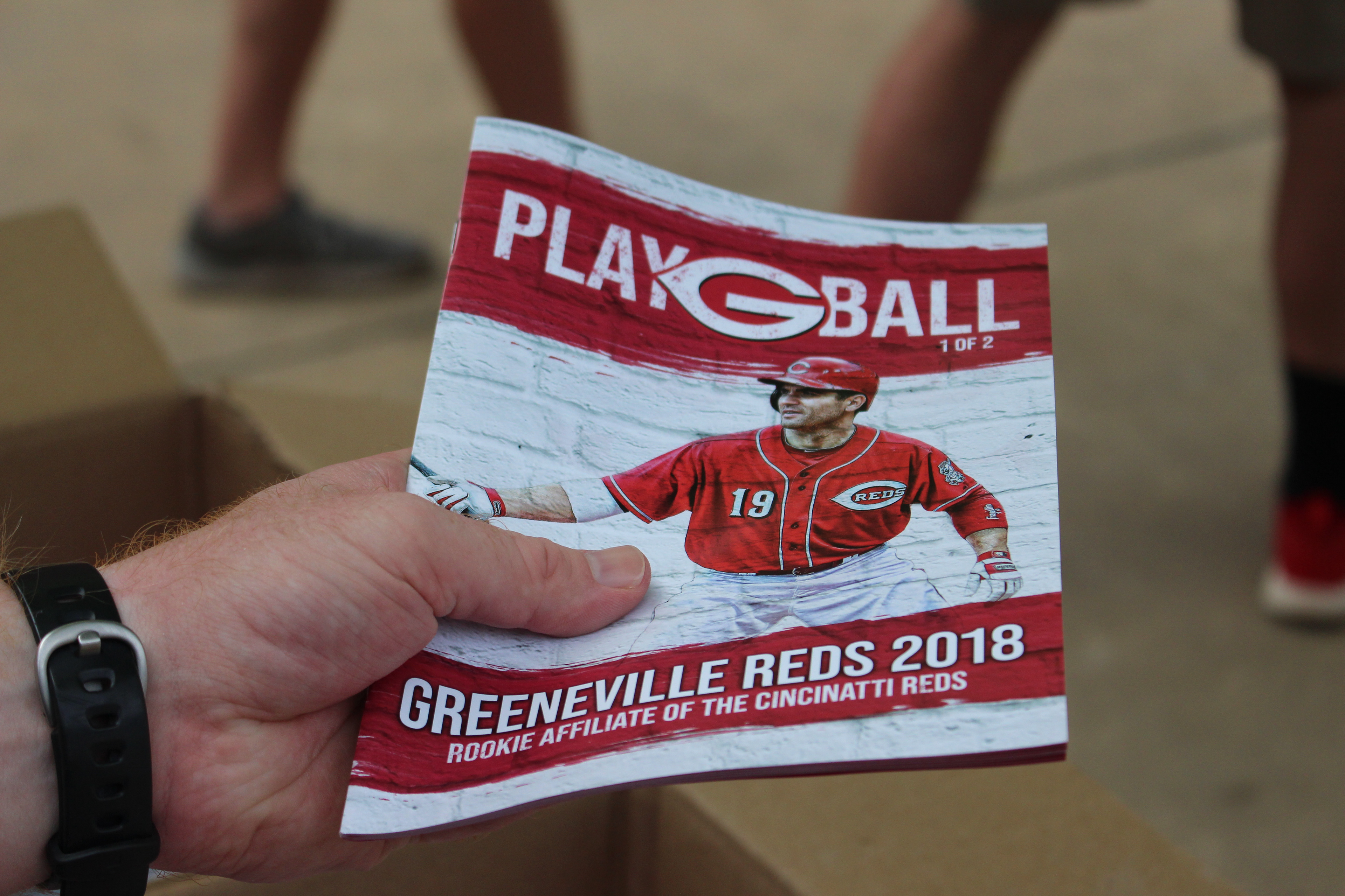 An Historic Year For The Cincinnati Reds I Have Had Honor To Design Various Pieces Greeneville Inaugural Season
