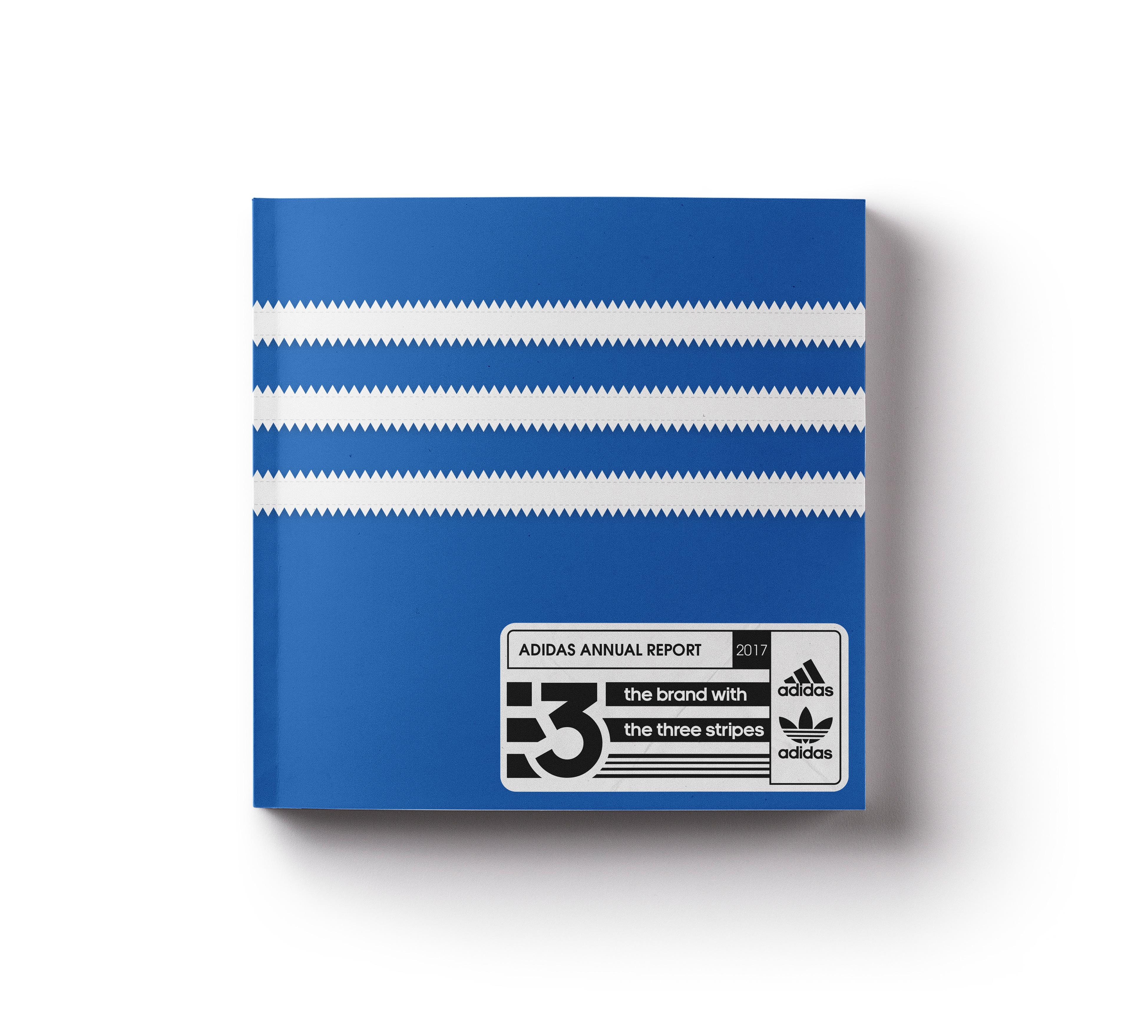 abile design più alla moda bello design Issaid Vargas - Adidas Annual Report