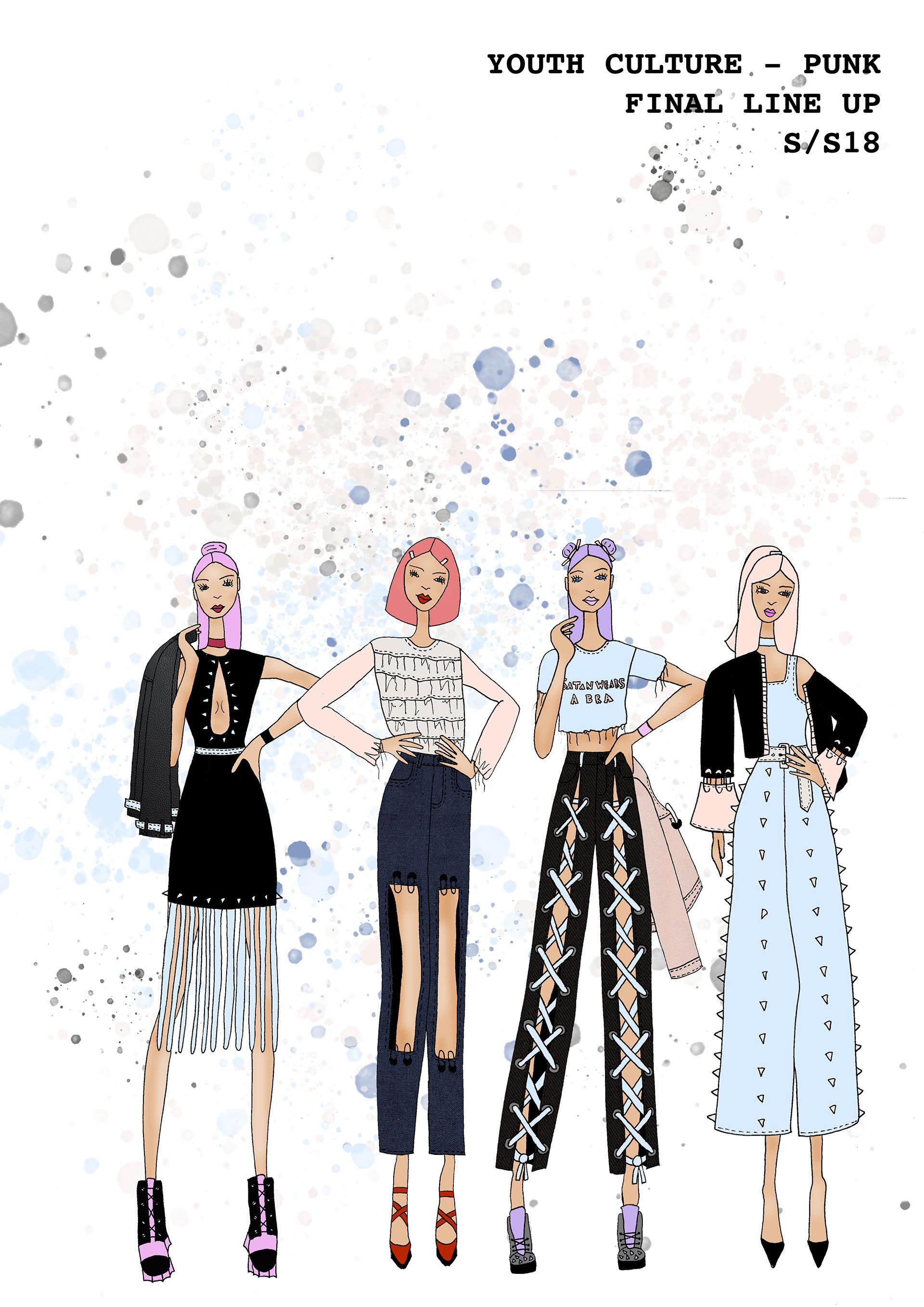 Fern Taylor Fashion Portfolio - Visual Studies - Youth Culture