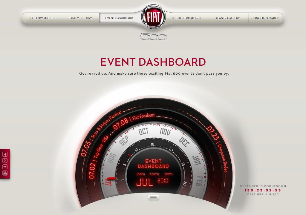Frances Perez Fiat Website - Fiat 500 website