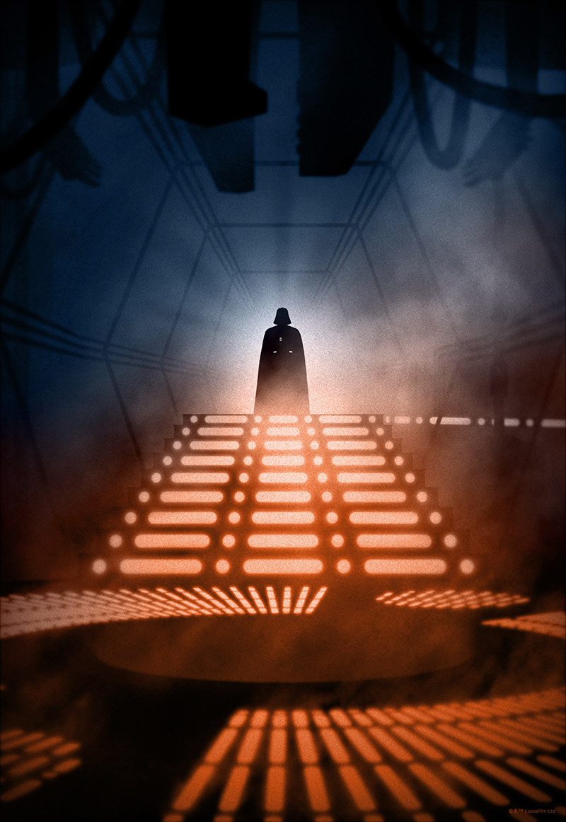 Marko Manev Star Wars Color And Noir Editions